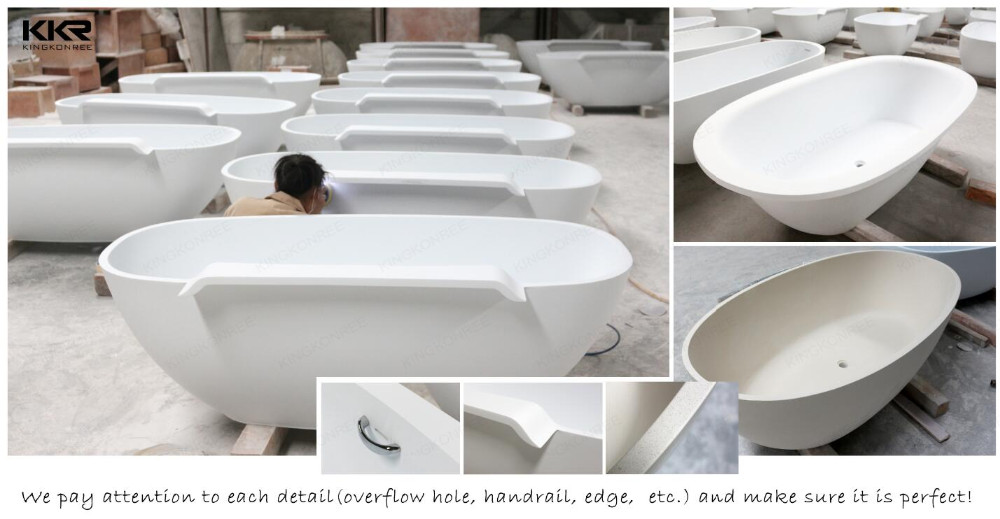 Solid surface stone ronde jetted tub bad whirlpools product id 60451146735 - Zinkt de verkoop ...