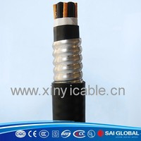 4*35mm2, 0.6/1kv, steel tape armoured xlpe power cable