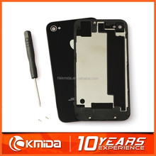 Battery cover case replacement for iphone 4s cover Complete housing