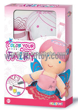 Paint set Color your doll Fairy with Paint and brush