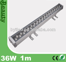 1m long 36W IP65 led wall washer light fixture