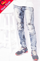 d jeans washed jeans plus size ripped skinny jeans