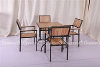 cheap restaurant wooden dining tables chairs for sales
