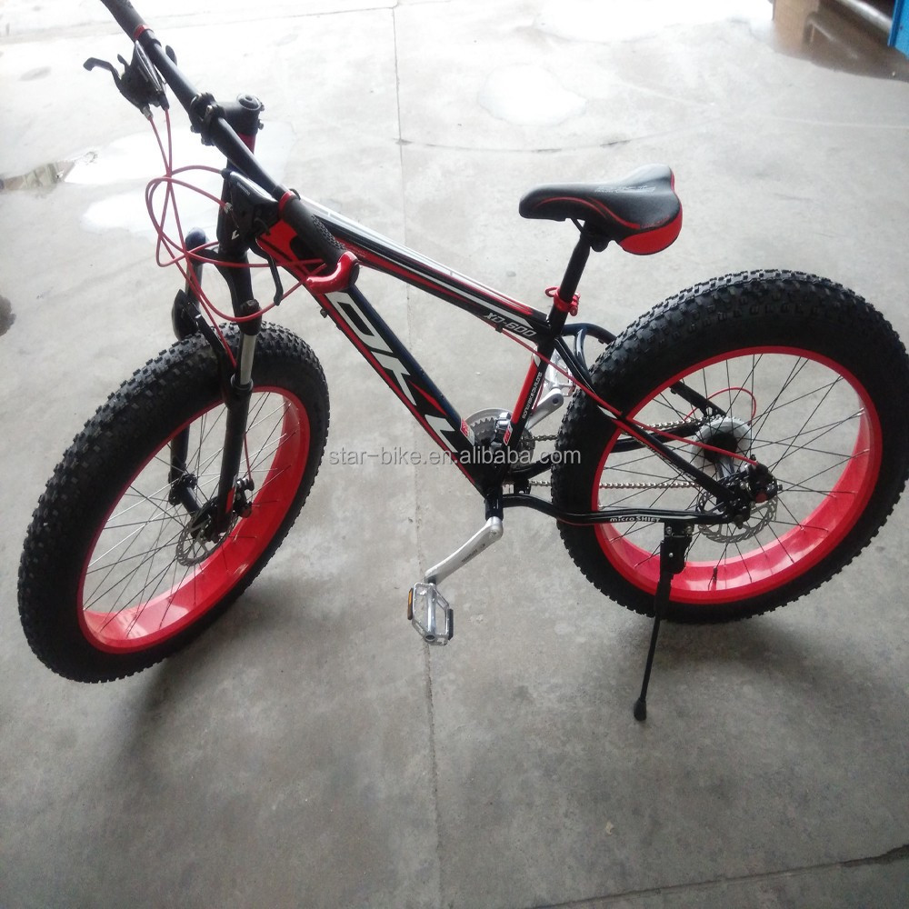 China Factory 26inch Snow Bike Fat Tire Bicycle Mountain Bike For Sale