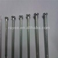 electric galvanized wire staples concrete nails