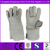 Excellent Kevlar line available hand protective welding industrial leather gloves 14inch