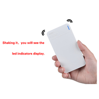Z-406 Zooming power bank battery cover