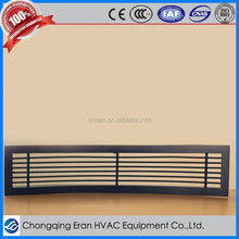 makeup air vent covers with compressed air fitting