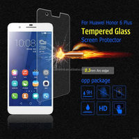 Low price Cheapest tempered glass film for huawei mate 7