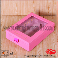 Manufacturer Cardboard Vac Tray Inside Packaging Box for Cosmetic