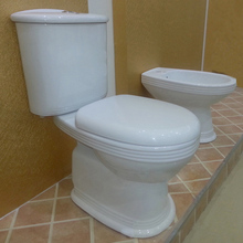 competitive sanitary ware two piece toilet,ceramic toilet ,,2 piece water closet ,bathroom 2 piece wc