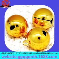 6mm plastic baby toy small ring shaking hanging bell ball ornament rihg bell OEM&ODM Manufacturers wholesale