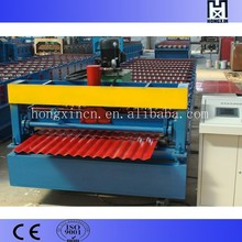 PLC Control Automatic Corrugated Steel Iron Roofing Sheet Roll Forming Machine for Sale Making Roof Tiles