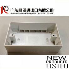 3x6 electrical pvc junction box 145x85x36mm T:2.0mm