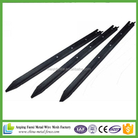 china suppliers black painted Fence Post / Y Post / Star Picket