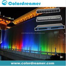 Professional amusement lighting artnet dmx sound to light controller