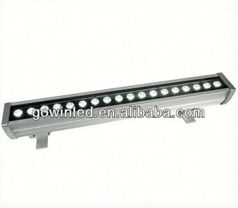 High Quality CE RoHS LED Wallwasher HP 18W dot matrix led video wall