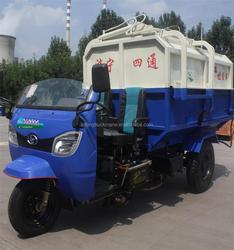 3 cbm Mini Garbage Truck, Excellent Design Trash Truck