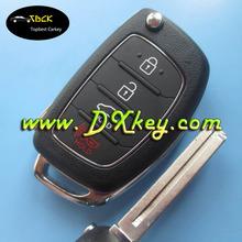 Excellent quality 3+1 button 433Mhz remote key for hyundai ix35 key hyundai car key