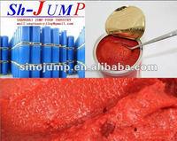 2014 bulk tomato paste/made from fesh tomato paste/ brix 28-30 tomato sachet