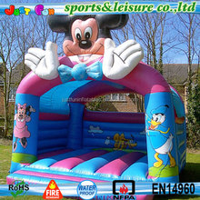 open inflatable castle mickey mouse bounce house for kids and adults
