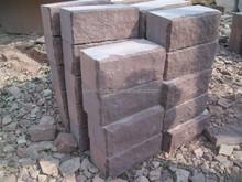 brown sandstone natural split