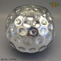 Handblown Silver Decoration Christmas Glass Ball