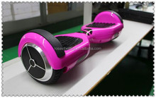Pink bluetooth hoverboard 6.5 inch Smart drifting scooter two wheels self balancing electric scooter