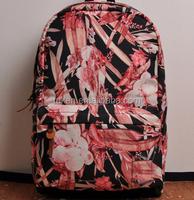 Best selling school bags leaves pattern korea fashion teens modern school backpacks