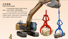 Hydraulic rotary grapple,timber grapple, stone grapple for excavator