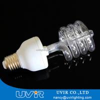 E27 base 185nm 18w uv germicidal lamp