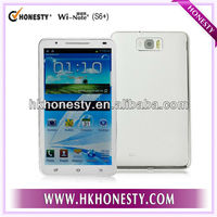 6.0 inch touch screen MTK 6577 Android mobile phone S6+