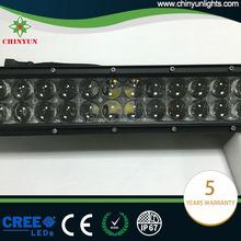 4D osram led light bars for off road 500W double row led bar lights for car