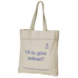 Hot fashion unique canvas tote bag