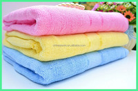 Factory supply Bamboo Fiber Satin Bath Towel wholesale plus size