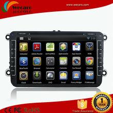 Wecaro HD 1024*600 Pure Android Car Dvd Player Skoda Superb Car Dvd Navigation