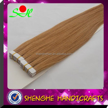 long lasting glue tape hair extensions peruvian human hair brazilian hair