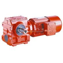 High heat-radiating efficiency WPDA worm gear speed reducer