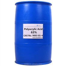 Polyacrylic Acid 63% as scale inhibitor dispersant and chelating agent cas no. 9003-01-4