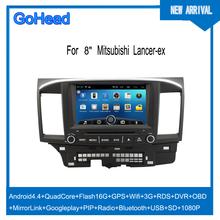For Mitsubishi Lancer-ex USB 3g Wifi GPS DVD Radio FM Bluetooth Android 4.4 Car Mp3 Player