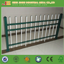 Powder coated decorative wrought iron fence panels