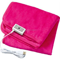 USB HEATED SHAWL LAP BLANKET