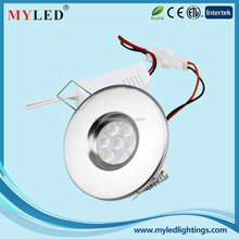 China manufacturer round led recessed downlights at least 2years warranty