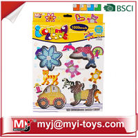 Meiyijia Direct selling funny plastic diy ironing perler beads diy modern toys for children BT-0056C