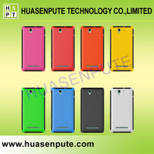 New Products 2015 Innovative Product Plastic and TPU Case for Sony Xperia C3