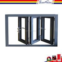 China supplier 2015 new design aluminium bi-folding window with Australian AS2047 standard