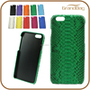 Dark Green Genuine Python Skin Snakeskin Leather Phone Case for iphone 6 / Iphone 6 Plus