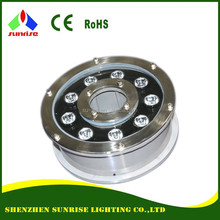 Waterproof DMX round lamp for outdoor lighting