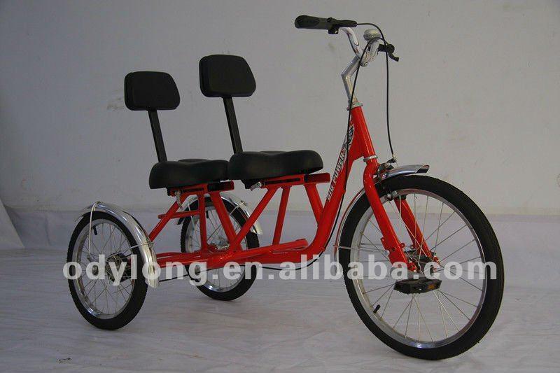 trois roues v lo double si ge enfants tricycle qu01ab voiture de jouet id du produit 535566175. Black Bedroom Furniture Sets. Home Design Ideas