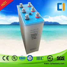 Military Quality Solar Battery NI-FE battery 1.2V 1000AH Nickel Iron Batteries For Sale